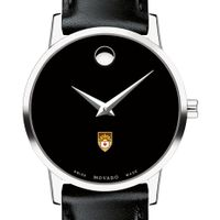 Lehigh Women's Movado Museum with Leather Strap