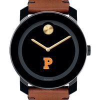 Princeton Men's Movado BOLD with Brown Leather Strap