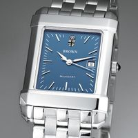 Brown Men's Blue Quad Watch with Bracelet