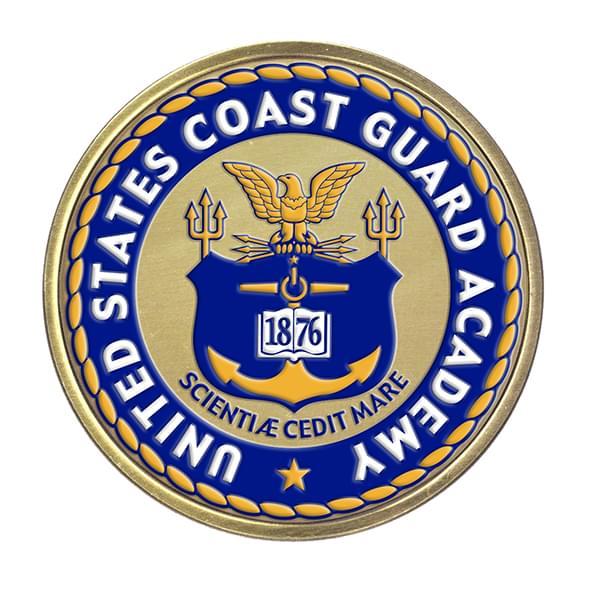 Us Coast Guard Academy Diploma Frame Excelsior