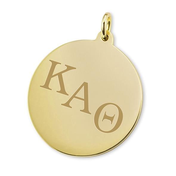 Kappa Alpha Theta 14K Gold Charm
