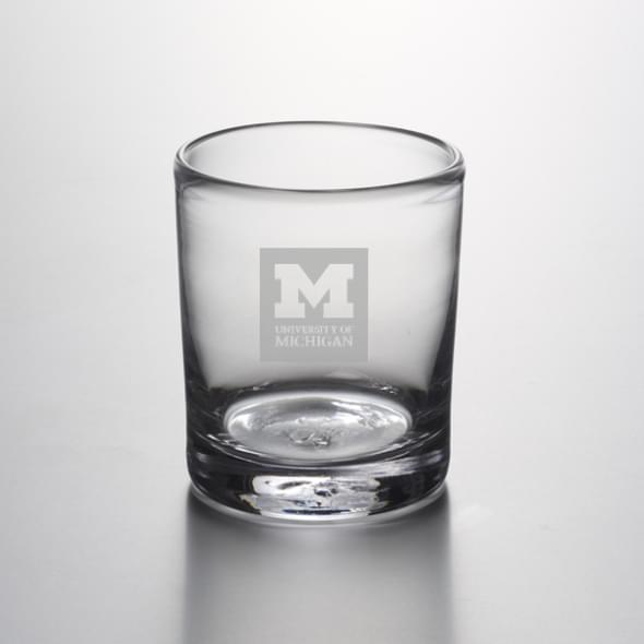 Michigan Double Old Fashioned Glass by Simon Pearce