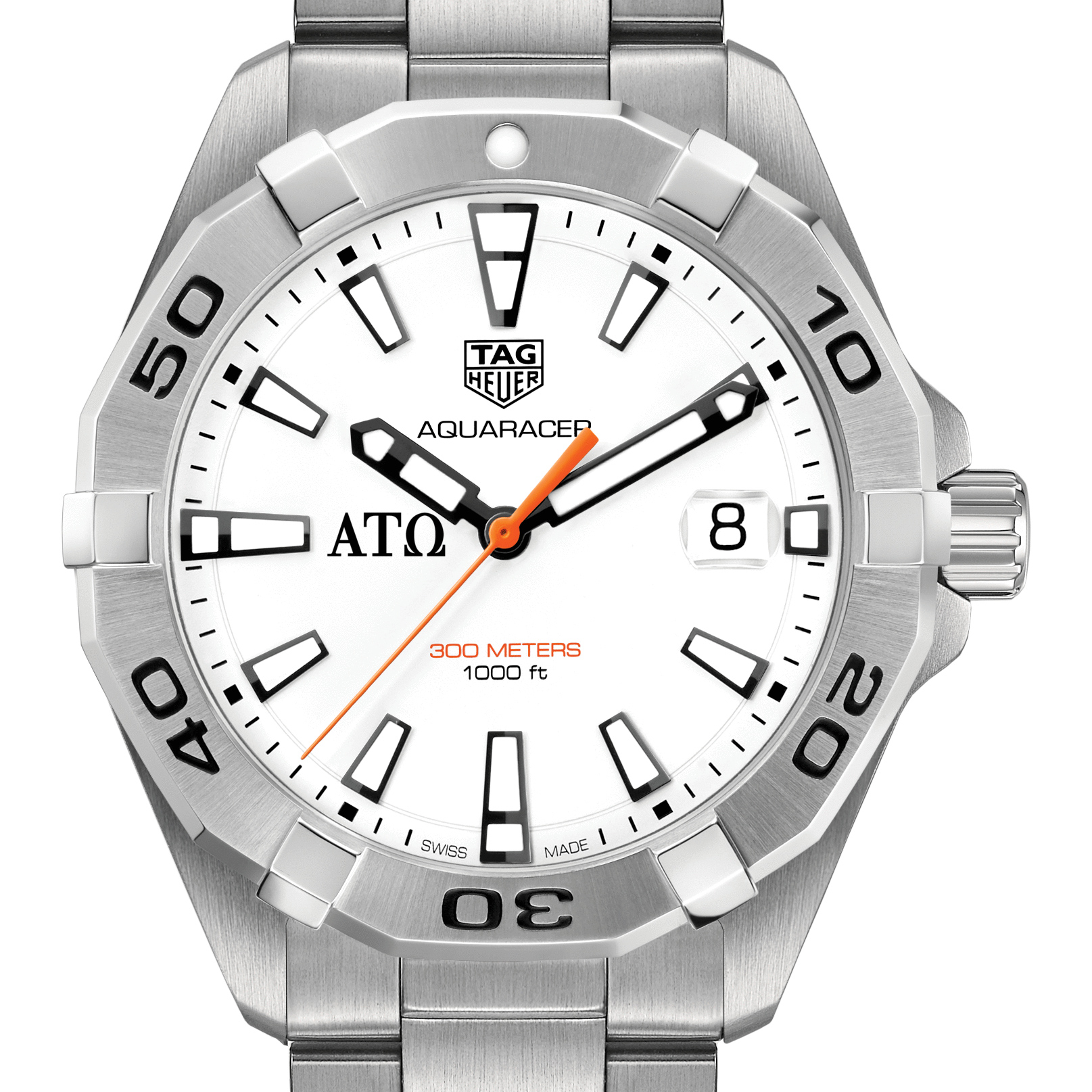 Alpha Tau Omega Men's TAG Heuer Steel Aquaracer