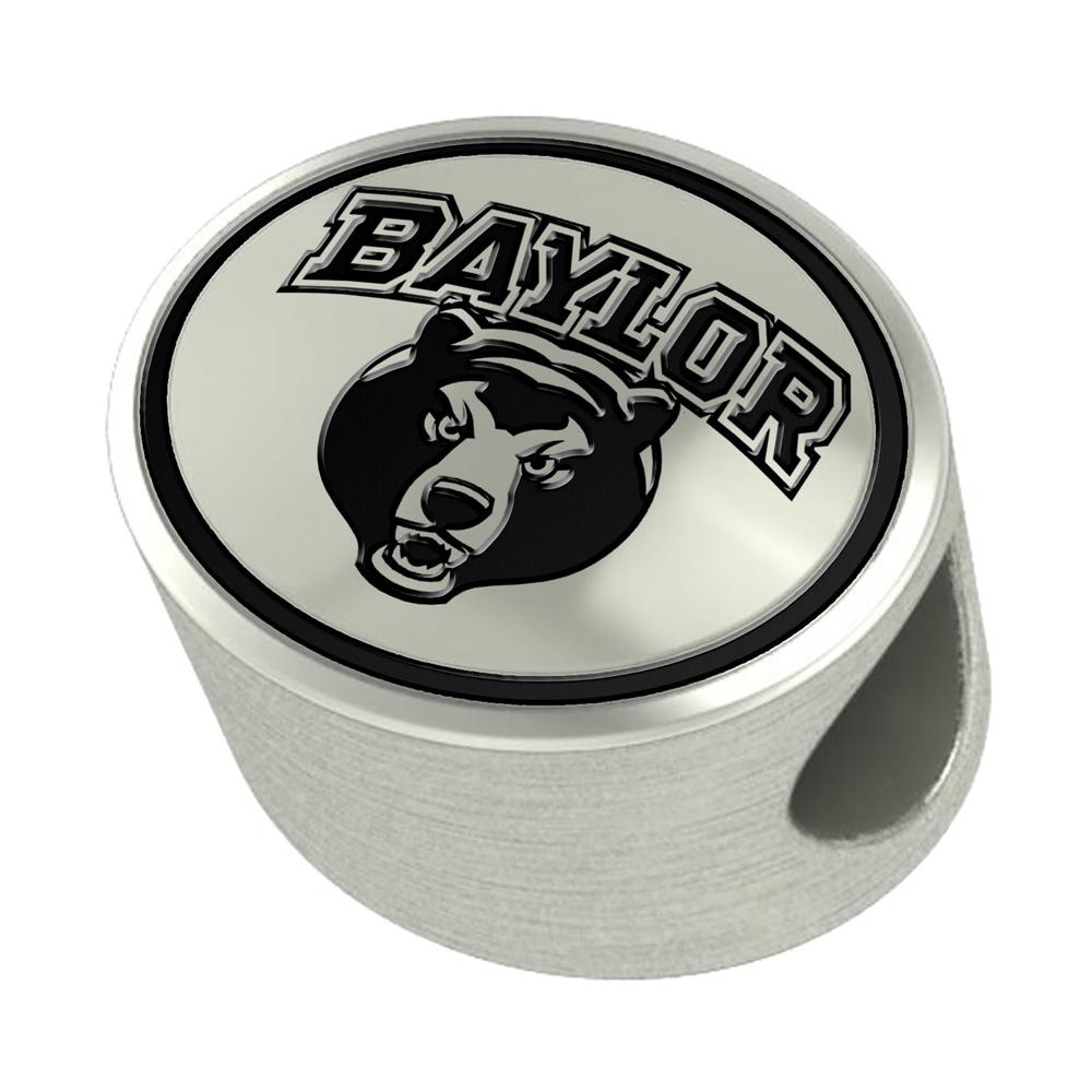 Baylor Enameled Premium Bead