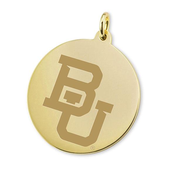 Baylor 18K Gold Charm