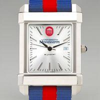 Ole Miss Men's Collegiate Watch with NATO Strap