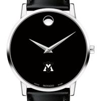 VMI Men's Movado Museum with Leather Strap