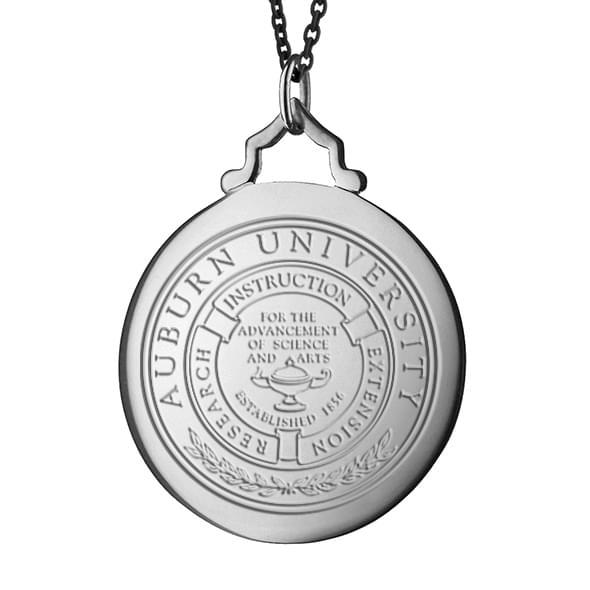 Auburn Monica Rich Kosann Round Charm in Silver with Stone