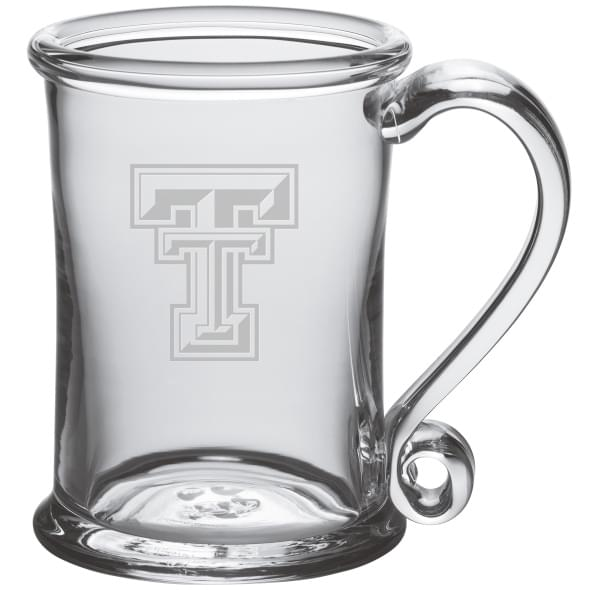 Texas Tech Glass Tankard by Simon Pearce