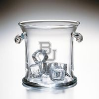 Baylor Glass Ice Bucket by Simon Pearce