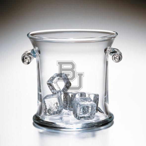 Baylor Glass Ice Bucket by Simon Pearce