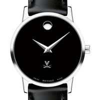 UVA Women's Movado Museum with Leather Strap