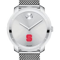 NC State Women's Movado Stainless Bold 36