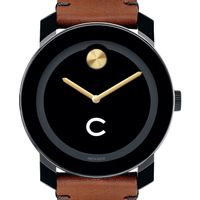 Colgate University M's Movado BOLD with Brown Leather Strap