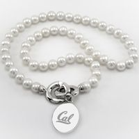 Berkeley Pearl Necklace with Sterling Silver Charm