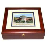 Southern Methodist University Eglomise Desk Box