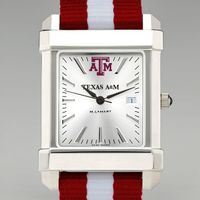Texas A&M Men's Collegiate Watch with NATO Strap