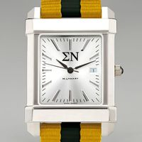 Sigma Nu Men's Collegiate Watch w/ NATO Strap Image-1 Thumbnail
