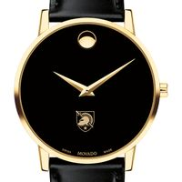 West Point Men's Movado Gold Museum Classic Leather