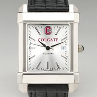 Colgate Men's Collegiate Watch with Leather Strap