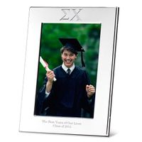 Sigma Chi Polished Pewter 4x6 Picture Frame