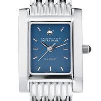 Notre Dame Women's Blue Quad Watch with Bracelet