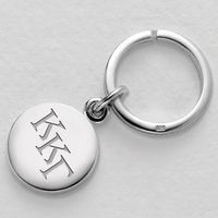Kappa Kappa Gamma Sterling Silver Insignia Key Ring Image-1 Thumbnail