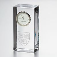 Harvard Tall Desk Clock by Simon Pearce