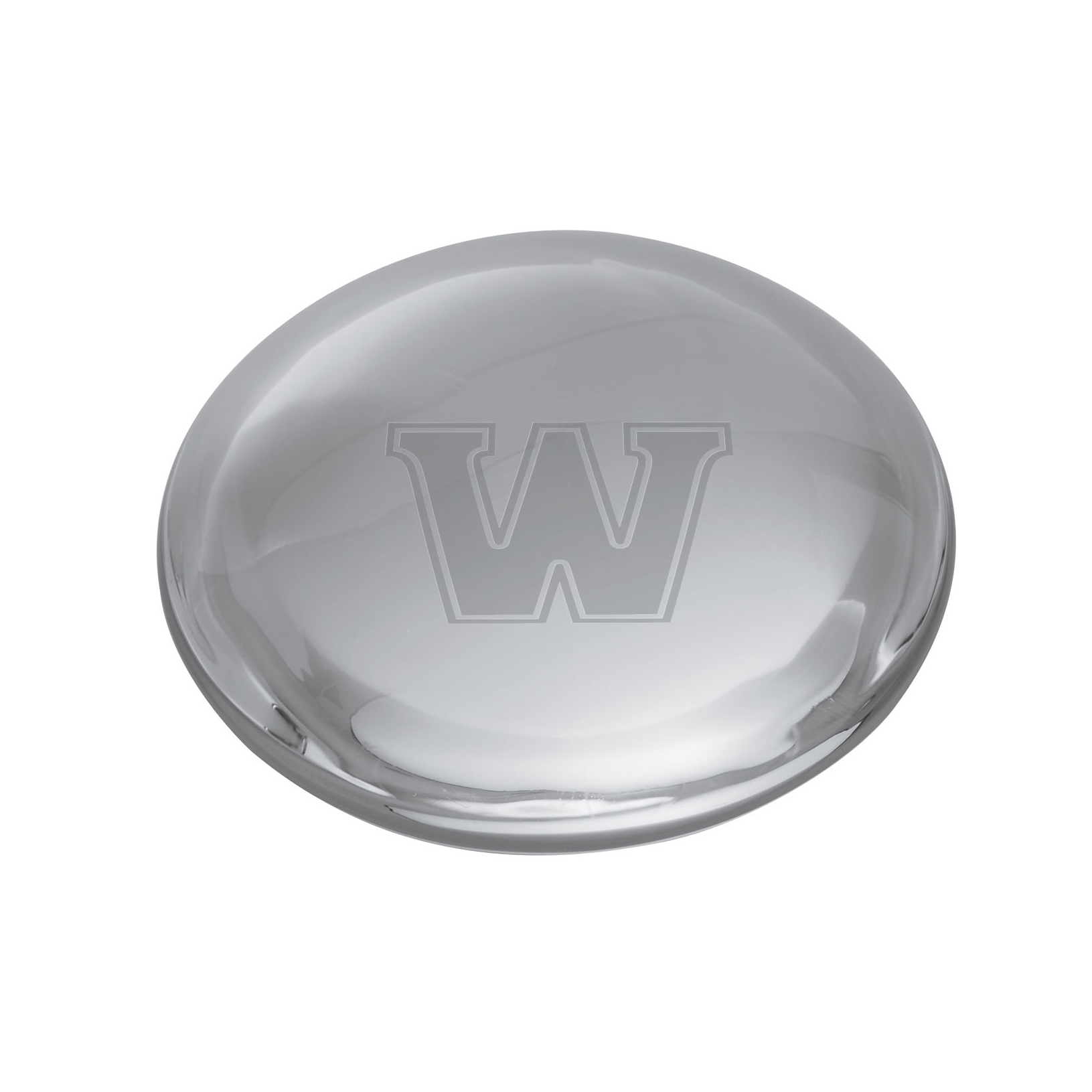 Williams Glass Dome Paperweight by Simon Pearce