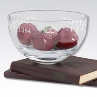 "Clemson 10"" Glass Celebration Bowl"