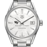 Wake Forest Women's TAG Heuer Steel Carrera with MOP Dial