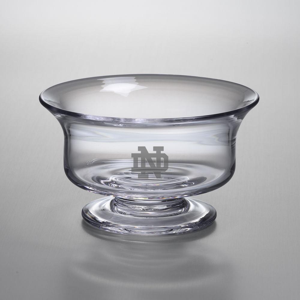 Notre Dame Medium Glass Presentation Bowl by Simon Pearce