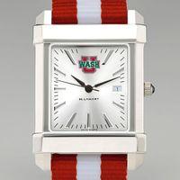 WUSTL Men's Collegiate Watch w/ NATO Strap