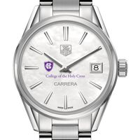 Holy Cross Women's TAG Heuer Steel Carrera with MOP Dial