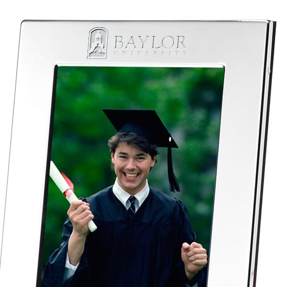 Baylor Polished Pewter 4x6 Picture Frame