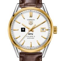 NYU Men's TAG Heuer Two-Tone Carrera with Strap