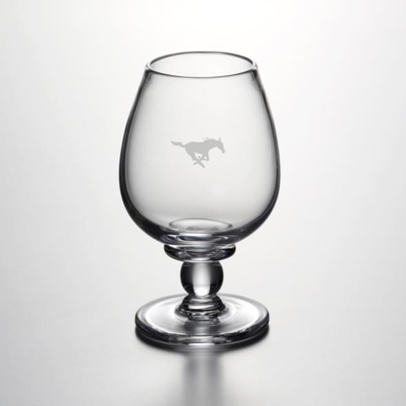 SMU Glass Brandy Snifter by Simon Pearce