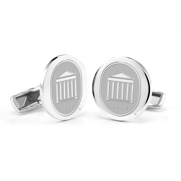 Ole Miss Sterling Silver Cufflinks