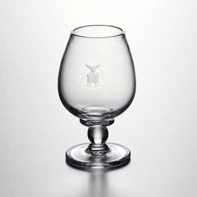 USAFA Glass Brandy Snifter by Simon Pearce