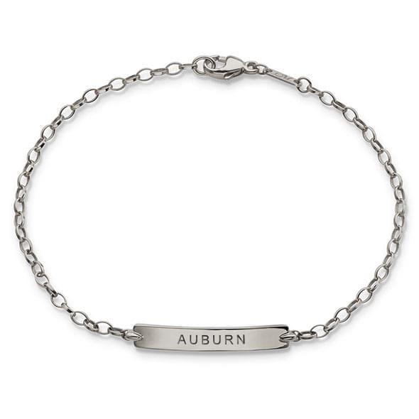 Auburn Monica Rich Kosann Petite Poesy Bracelet in Silver