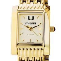 Miami Women's Gold Quad with Bracelet