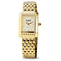ADPi Women's Gold Quad Watch with Bracelet