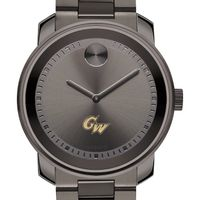 George Washington Men's Movado BOLD Gunmetal Grey
