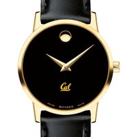 Berkeley Women's Movado Gold Museum Classic Leather