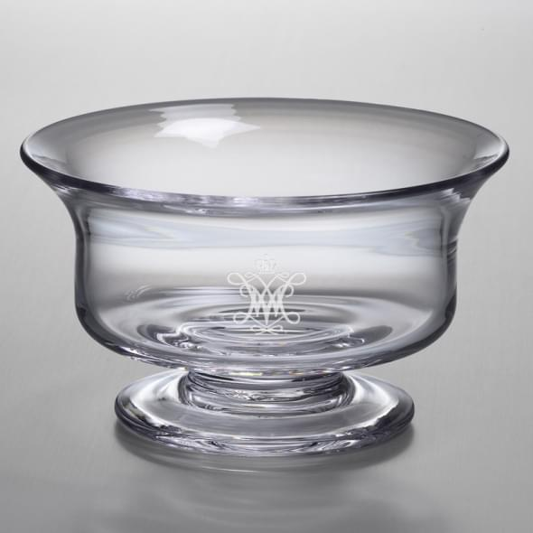 W&M Large Glass Bowl by Simon Pearce