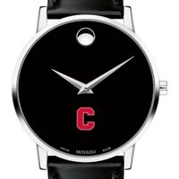 Cornell Men's Movado Museum with Leather Strap