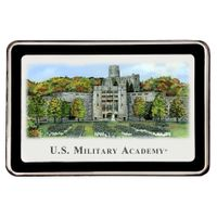 West Point Eglomise Paperweight