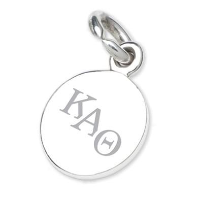 Kappa Alpha Theta Sterling Silver Charm