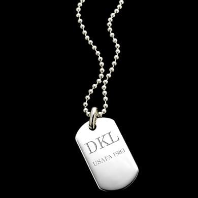 Air Force Academy Dog Tag Necklace 30""