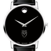 Emory Men's Movado Museum with Leather Strap Image-1 Thumbnail